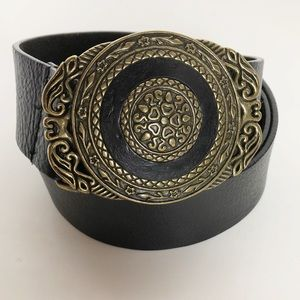 Accessories - Genuine Leather Belt. XL.